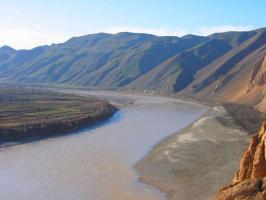 Река Пяндж .