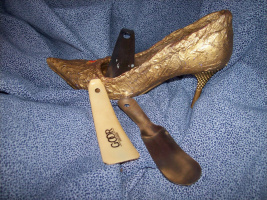 """...и стала туфелька - """"Золотой """" помощницей!!!"""
