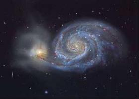 У Млечного пути как и у М51 тоже есть спутник
