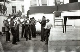 """""""Оркестр наш духовой..."""" 1 Мая 1990 года."""