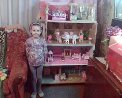 домик для куклы Барби
