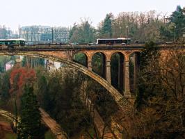 Фрагменнт арочного моста.