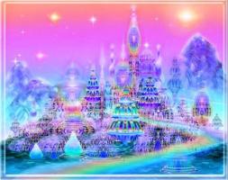 фантастический небесный город