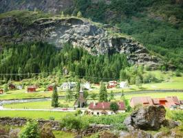 Норвегия, Фломская долина