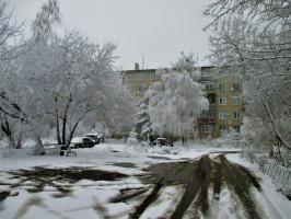 Зима в апреле
