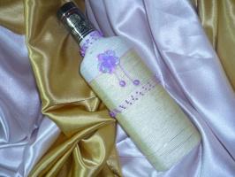Коллекция плетёных бутылочек