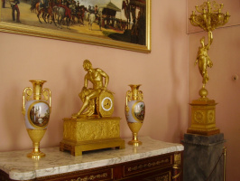 Каминные часы. Екатерининский дворец