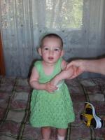платьице для доченьки