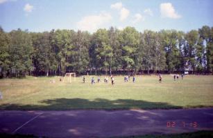 На футболе в Пучеже 2002г.