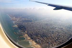 А внизу - Тель-Авив ( + 2 снимка)