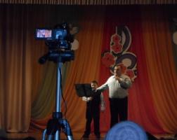 Дуэт С.Абрамова с младшим сыном. Юбилейный концерт 16.02.2014.