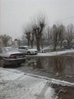 Один из первых снегов.
