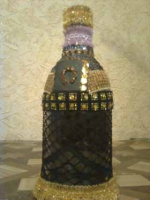 декорирование бутылок