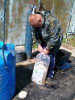 Раз и готов пакет с кислородом и рыбой