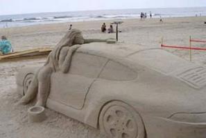 Песочная машина