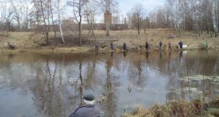 Апрель, Родинка, рыбаки и ... рыбка!