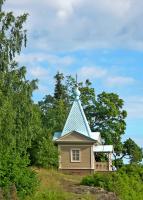 Спасо-Преображенский Валаамский монастырь. Часовня Покрова Пресвятой Богородицы у Нижнего сада
