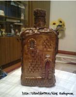 Бутылочка-домик
