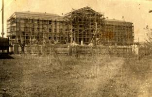 Строительство здания администрации