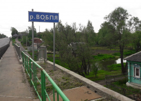 Река в деревне Ивняги Луховицкого района