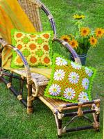 Подушки цветочные