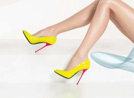 Кто, когда впервые появился в туфлях на каблуках-шпильках?