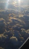 Отражение солнца в болотах Восточной Сибири
