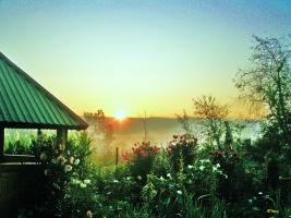 Утро в Прикарпатье