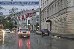 Дождь.Поездка по Владивостоку.