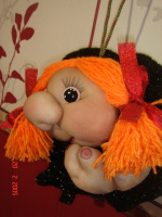 Кукла-попик на удачу