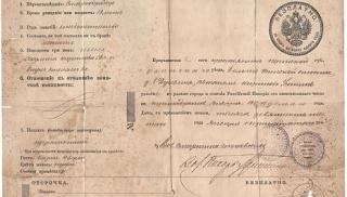 Когда и где появился первый паспорт?