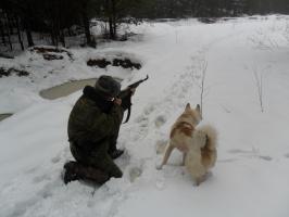 Мы с Диком - охотники!!!