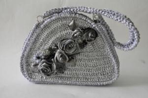 сумочка-серебро