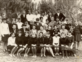 Позади 8 классов. 1965-1966г.