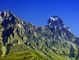 Гора Ушба. Сентябрь