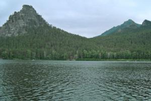"""озеро """"Боровое"""" (Казахстан)"""