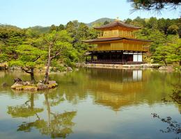 Золотой храм Кинкаку-дзи (Киото)