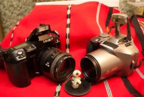 Фотографы на сессии (Охотники на привале)