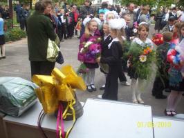 Первый школьный звонок в новом учебном 2010 году