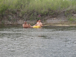 У реки Чурбай - Нура.