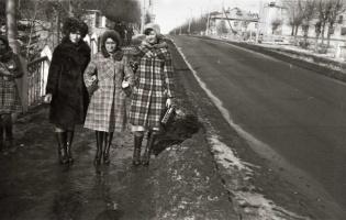 Март в городе. 1979 год.