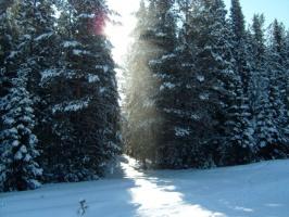 Зима на Урале......