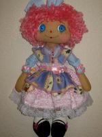 Кукла в девчачью спальню