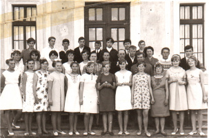 Выпуск 1968 года в Пучежской восьмилетней школе