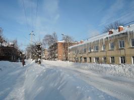 На ул. П. Зарубина