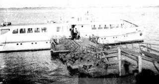 Пассажирский теплоход МО-30. 1980г.