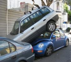 Бой за место на парковке закончился вничью...