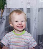 Детская улыбка.