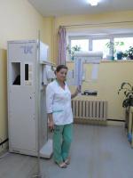 Медсестра рентген.кабинета поликлиники Бесхлебнова Римма.