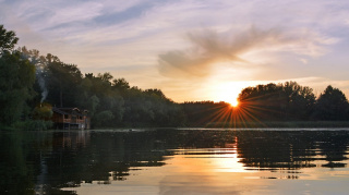Тихий августовский закат